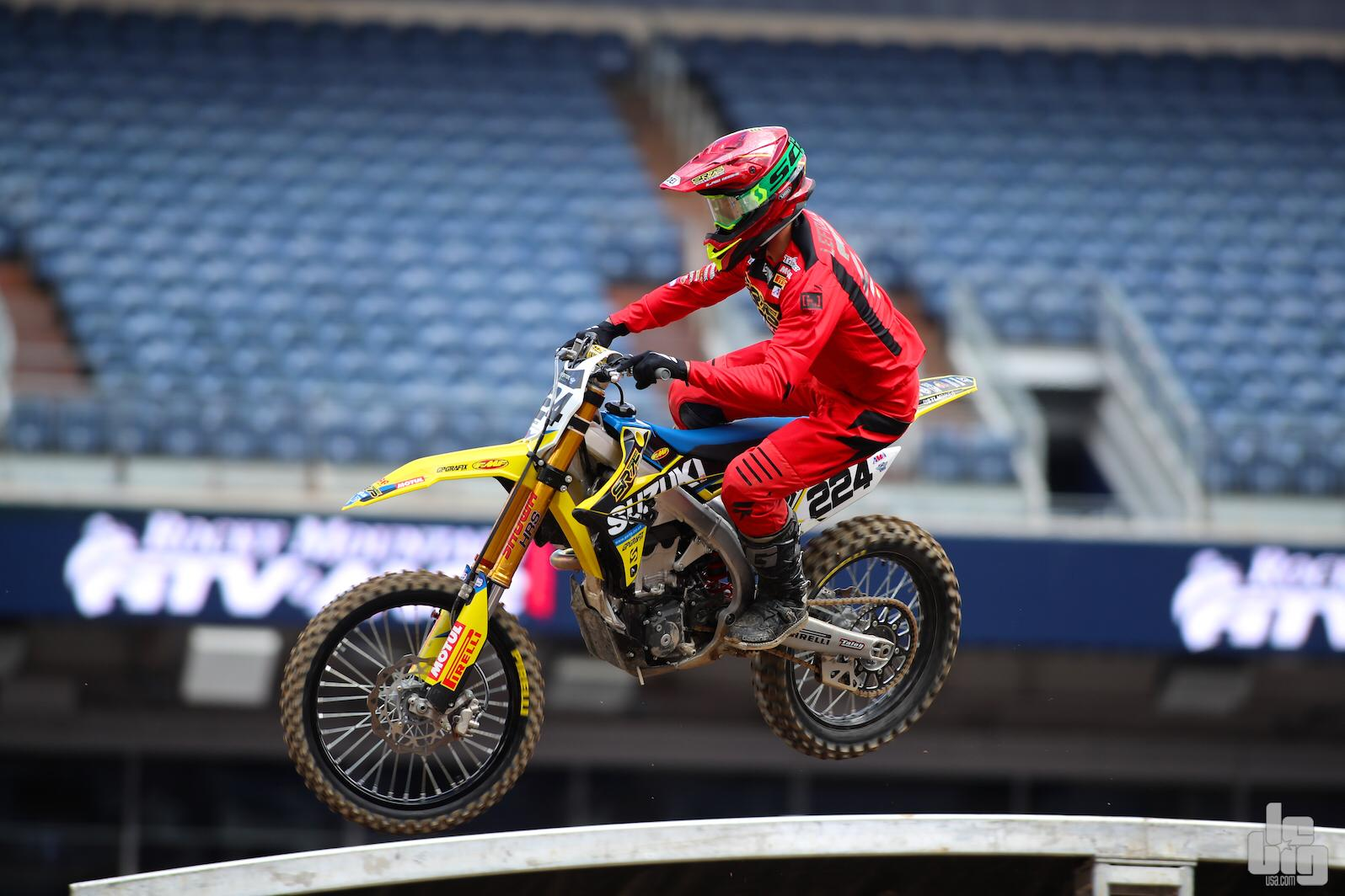 DENVER MONSTER ENERGY SUPERCROSS POINTS FOR SR75 SUZUKI'S CHARLES LEFRANÇOIS