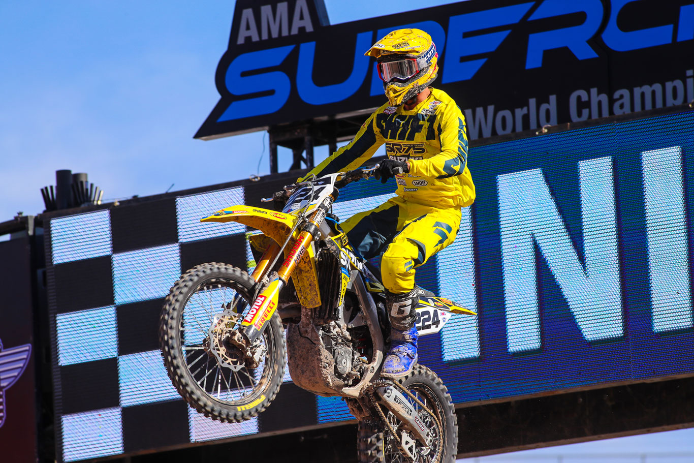 MAIN EVENT POINTS FOR SR75 & LEFRANÇOIS AT LAS VEGAS SUPERCROSS