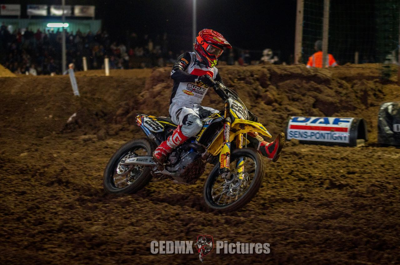 GOOD SPEED & SOLID POINTS FOR SR75'S LEFRANÇOIS AT SX YONNE