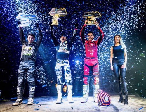 SR75 HRS SUZUKI VICTORIOUS AT BELFAST ARENACROSS